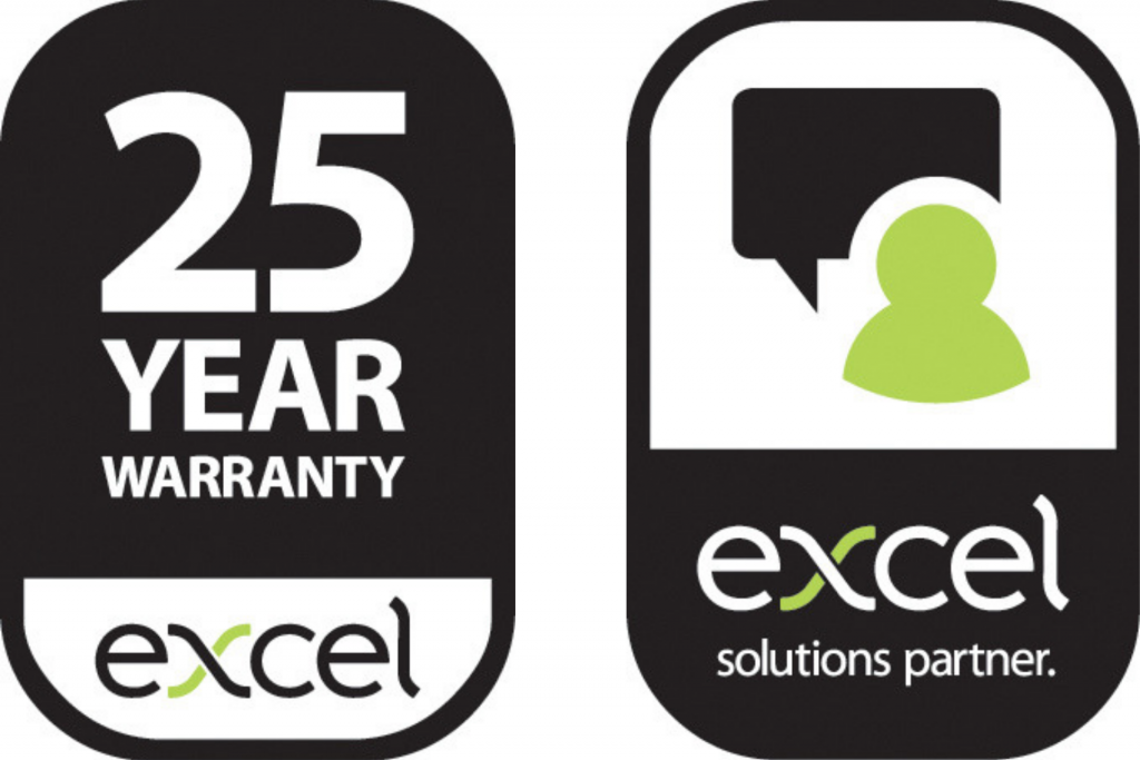 25 year warranty on most installations